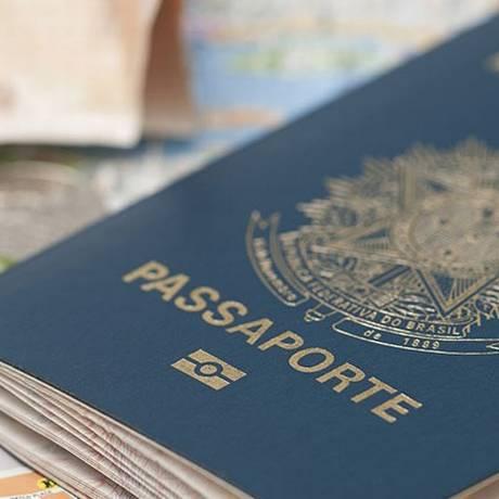 Passaporte expedido pela PF Foto: Divulgação/Proteste