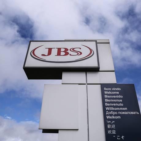 Fábrica da processamento de aves (frangos e derivados) da JBS em Lapa, no Paraná. Foto: André Coelho/Agência O Globo