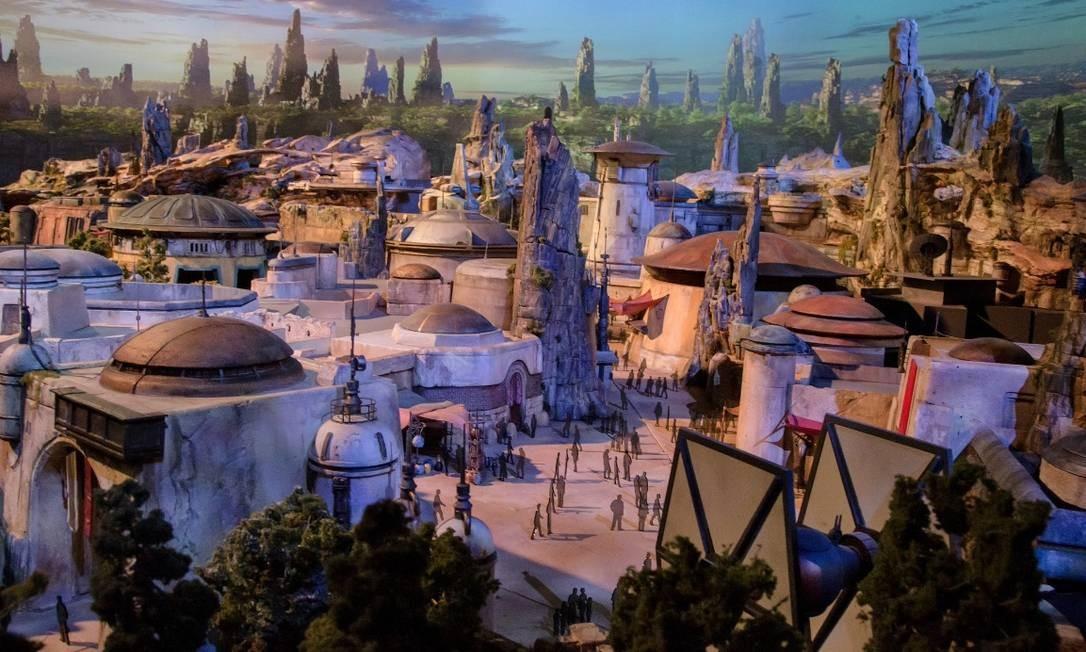 As imagens foram divulgadas pelo blog da Disney Parks e mais detalhes serão apresentados durante a convenção de fãs da Disney D23, neste fim de semana Foto: Disney Parks Blog / Reprodução