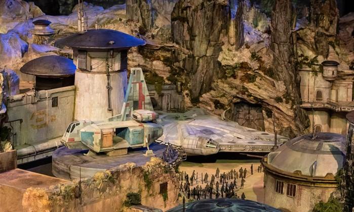 Veja as primeiras imagens da Star Wars Land nos parques da Disney