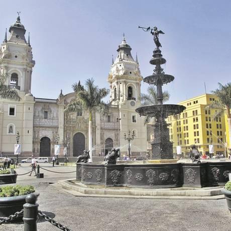 Lima, no Peru, que receberá novos voos Foto: Cristina Massari