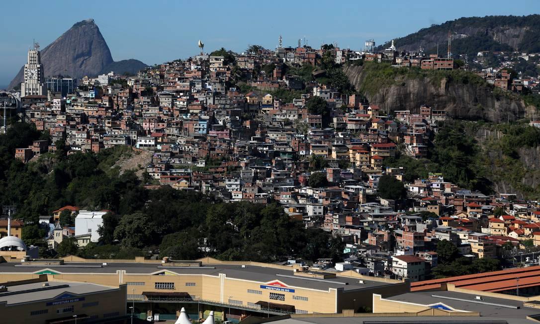 É como se, em quatro anos, crescesse na cidade uma área equivalente a dois novos Pavão-Pavaõzinhos Custódio Coimbra / Agência O Globo