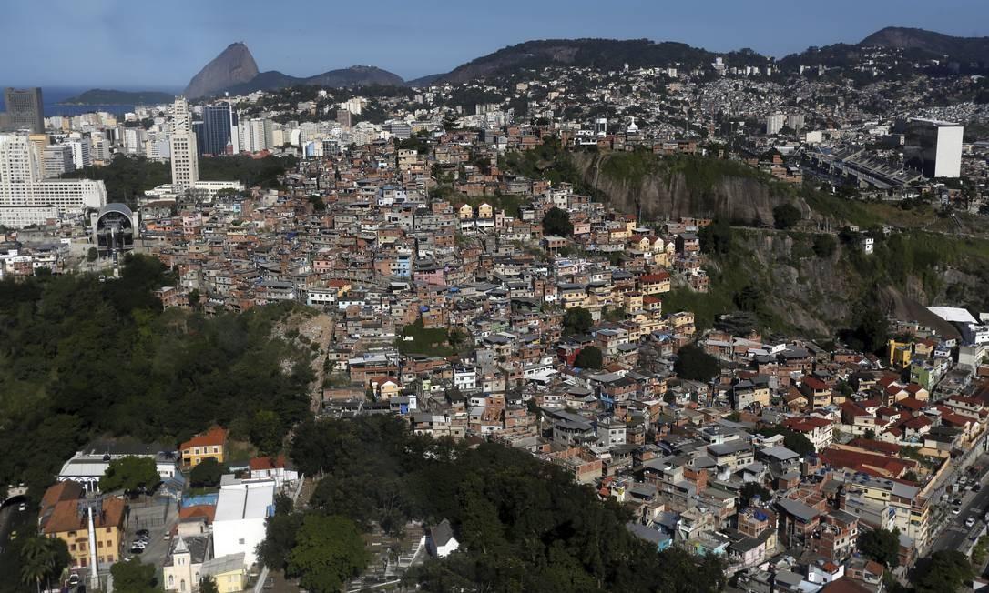 Na Zona Sul, houve crescimento principalmente em Copacabana e Botafogo, na região do Morro dos Cabritos (5,57%) e da Ladeira dos Tabajaras (18,35%) Custódio Coimbra / Agência O Globo