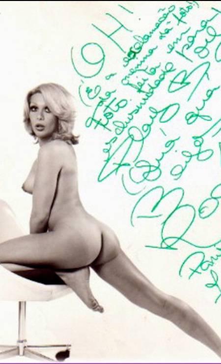 Nua na reivsta Playboy Foto: O Globo