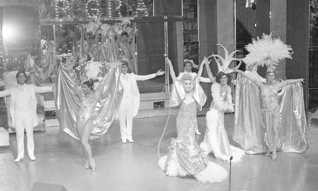 Show 'Rio Gay', no Teatro Alaska, em 1983 Foto: Arquivo