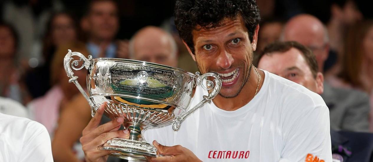 Resultado de imagem para Marcelo Melo em Wimbledon