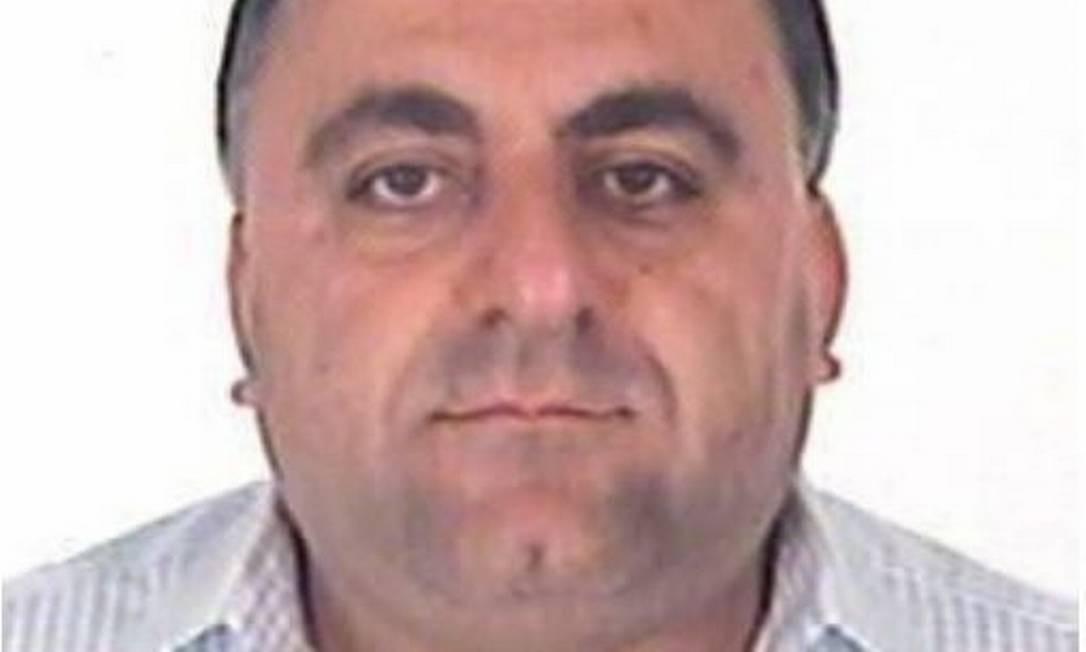 Joseph Eddine Nasrallah. Libanês, de 50 anos, condenado a dez anos e oito meses por tráfico internacional de drogas. Divulgação