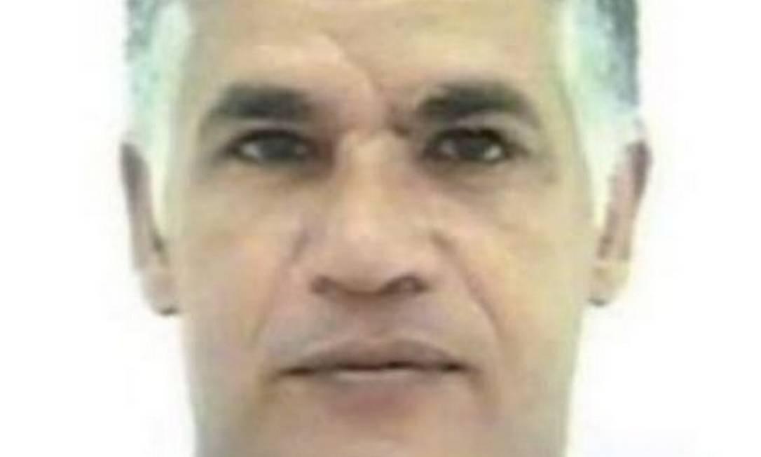 João Aparecido Ferraz Neto. Brasileiro, de 58 anos, condenado a 20 anos por tráfico internacional de drogas. Divulgação