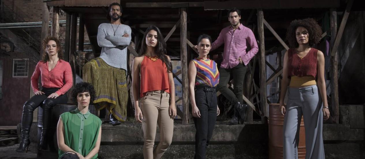 O elenco da segunda temporada de '3%' Foto: Pedro Saad / Netflix