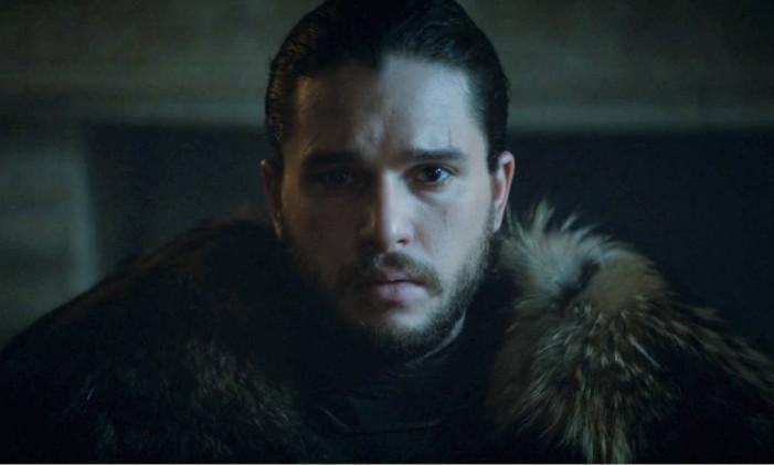 Jon Snow (Kit Harington), de 'Game of Thrones' Foto: Reprodução