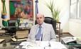 O vice-governador do Rio, Francisco Dornelles, que reassumiu o governo