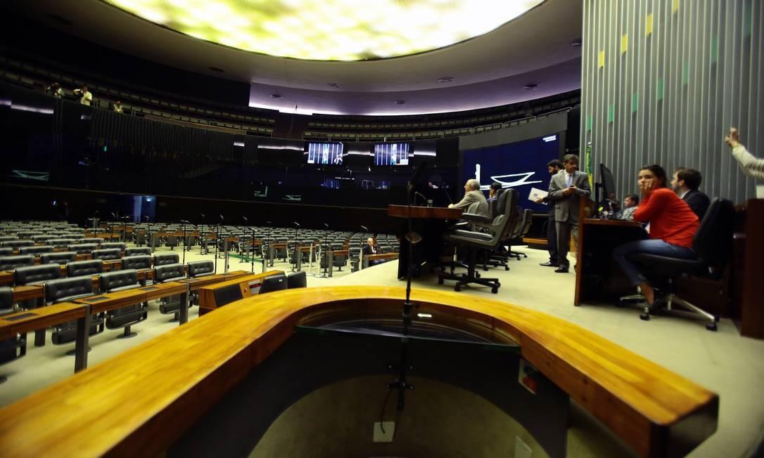 Leitura do parecer da CCJ ficou para o dia 1º de agosto, e votação será no dia seguinte Jorge William / O Globo