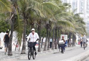 Termômetros estão em declínio acentuado no Rio Foto: Pablo Jacob - 12/07/2017 / Agência O Globo