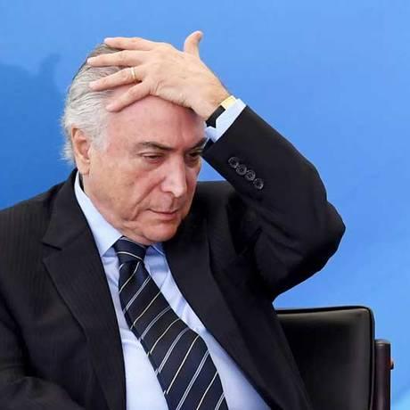 Presidente da República, Michel Temer Foto: AFP