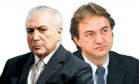O presidente Michel Temer e o empresário Joesley Batista Foto: Agência O Globo