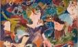 Sem título. Da galeria Gustavo Rebello, óleo sobre tela, de Ivan Serpa Foto: Jaime Acioli / Fotos de Jaime Acioli/Divulgação