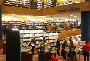 A Livraria Cultura comprou a Fnac Brasil, rede de eletrônicos e eletrodomésticos. Foto: Marcos Alves / Agência O Globo