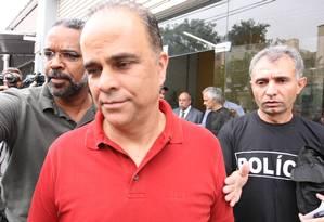 Marcos Valério foi personagem principal do mensalão. MP de Minas negou proposta de delação oferecida pela defesa de condenado Foto: Marcelo Prates/2-12-2011