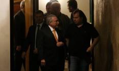 O presidente Michel Temer e o presidente da Câmara, Rodrigo Maia Foto: Adriano Machado / Reuters / 18-7-17