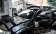 Carro oficial da Polícia Federal Foto: Agência O Globo