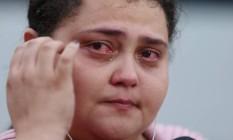 Moradora de Muriaé, Fernanda Nogueira Dutra foi assaltada na fila do Instituto de Endocrinologia e Diabetes (IEDE), no Centro Foto: Fabiano Rocha / O Globo