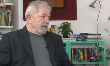 Lula diz que PT errou, mas 'não cometeu 10% do que falam' Foto: Reprodução / Reprodução