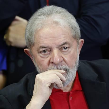 O ex-presidente Luiz Inácio Lula da Silva Foto: Edilson Dantas