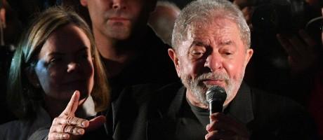 O ex-presidente Luiz Inácio Lula da Silva Foto: Nelson Almeida / AFP / 20-7-17