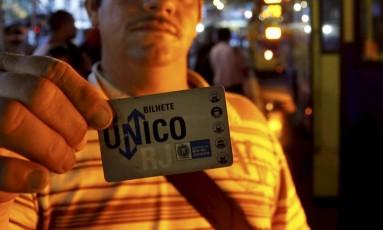 Justiça do Rio determinou abertura de licitação do Bilhete Único Intermunicipal Foto: Domingos Peixoto / Agência O Globo 02-12-2016