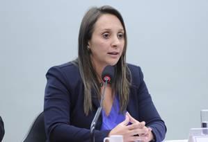 A deputada federal Renata Abreu Foto: LUCIO BERNARDO JR / Divulgação/Agência Cêmara