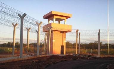 O presídio federal de Mossoró Foto: Divulgação/Governo do RN