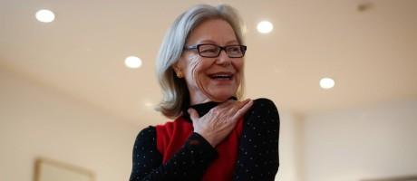 Dorrit Harazim, colunista do Globo ganha o prêmio internacional Maria Moors Cabot, da Universidade Columbia Foto: Edilson Dantas / Agência O Globo