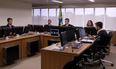 Desembargadores da 8ª Turma do TRF da 4ª Região, que analisa os recursos da Operação Lava-Jato Foto: Sylvio Sirangelo/TRF-4/1-6-2016