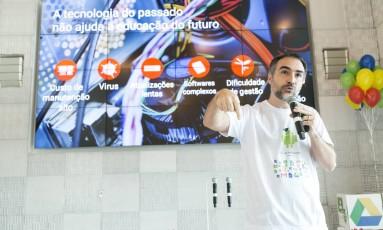 Rodrigo Pimentel, diretor do Google for Education Foto: Divulgação/SAMUEL K. / Divulgação/SAMUEL K.
