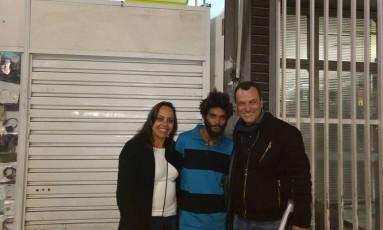 Rosilene e Júlio procuraram Halter por mais de 12 horas Foto: Facebook/Reprodução