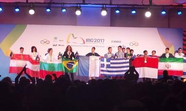 O mineiro João César Campos Vargas recebeu uma medalha de prata e foi o brasileiro com a melhor colocação individual no evento: 82ª posição entre 623 participantes Foto: Clarissa Pains
