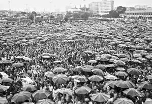 Novo papel. Greve dos metalúrgicos no ABC Paulista, em 1978: sindicatos com maior representatividade e melhores negociações devem atrair mais filiados Foto: Arquivo