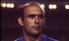 Waldir Peres com a seleção em 1982 Foto: Sebastião Marinho - Arquivo