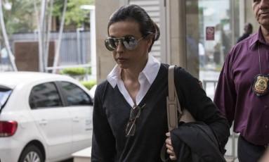 A ex-primeira-dama do Rio Adriana Ancelmo Foto: Alexandre Cassiano / Agência O Globo