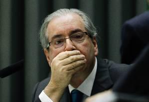 Eduardo Cunha negocia um acordo de colaboração premiada e pode revelar quem recebeu o dinheiro Foto: André Coelho