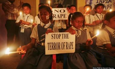 Índia é o país com o maior número de crianças abusadas sexualmente Foto: Reuters / AMIT DAVE