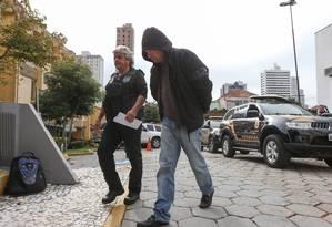 Ex-gerente da Petrobras, Pedro Augusto Cortes Xavier Bastos é preso na 41ª fase da Lava-Jato Foto: Geraldo Bubniak / O Globo 29-05-2017