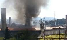 CDP de Pinheiros teve uma das alas incendiadas nesta segunda-feira Foto: Edilson Dantas
