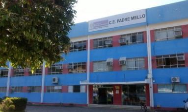Escola em Bom Jesus do Itabapoana, onde ocorreram casos de estupro coletivo Foto: Reprodução