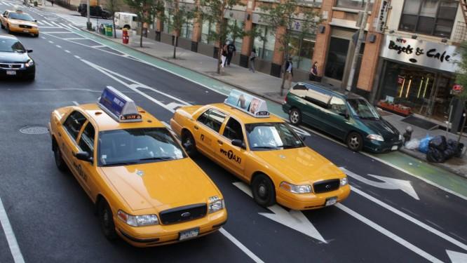 Os tradicionais táxis amarelos de Nova York Foto: Jen Davis / NYC & Company/Divulgação
