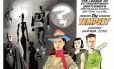 Página inicial de 'The tempest', parte final da saga 'A liga extraordinária', de Alan Moore e Kevin O'Neill Foto: Reprodução