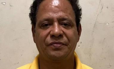 Carlos Alberto Luiz de França estava foragido desde 1990, acusado de matar a companheira a facadas Foto: Divulgação / Polícia Civil
