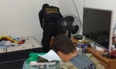 Cerca de 350 policiais foram mobilizados para Operação Glasnost Foto: Polícia Federal / Divulgação