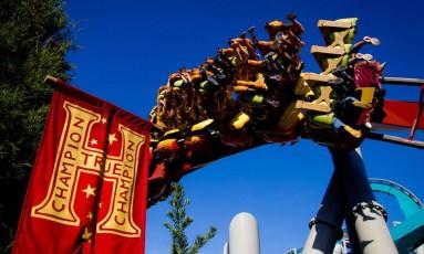 Dragon Challenge vai ser uma nova montanha-russa na área de Harry Potter, no Universal Orlando Foto: Divulgação