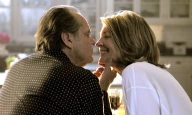 Cena do filme 'Alguém tem que ceder', em que Diane Keaton interpreta uma mulher com mais de 50 anos que volta a ter vida sexual ativa Foto: Divulgação